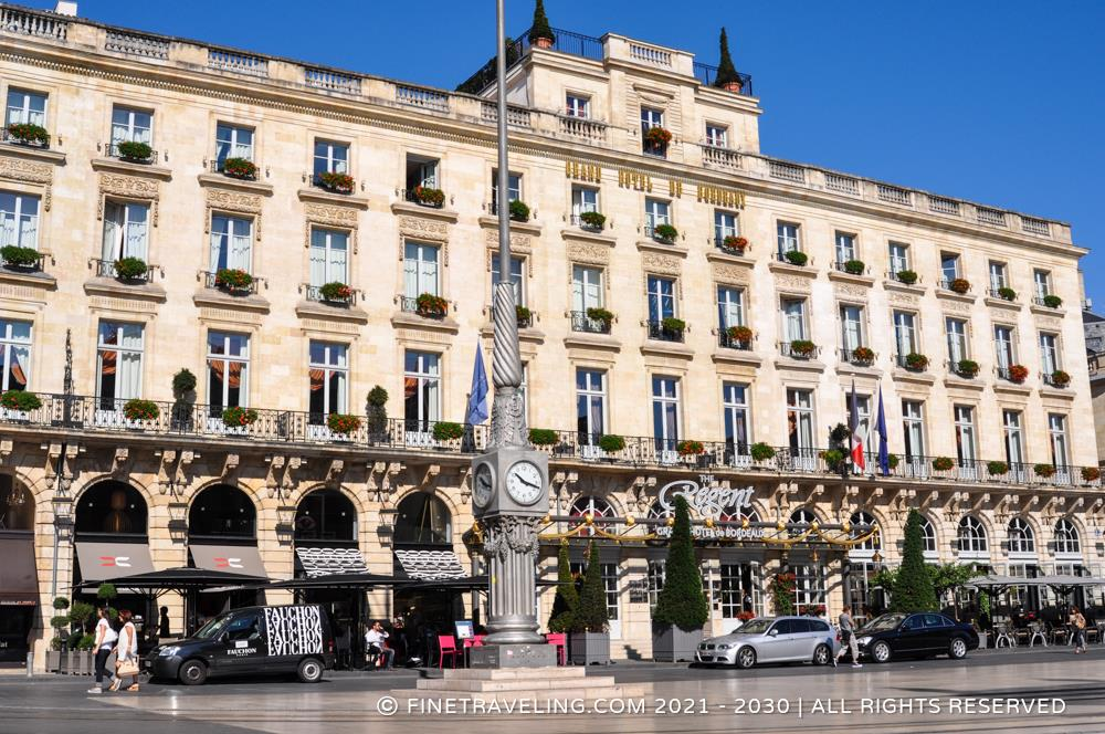 The regent grand hotel bordeaux spa bordeaux hotel for Hotels bordeaux