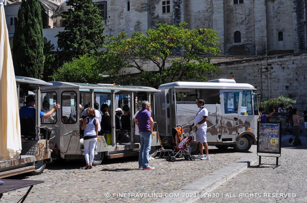 avignon train city tour things to do in avignon fine traveling. Black Bedroom Furniture Sets. Home Design Ideas