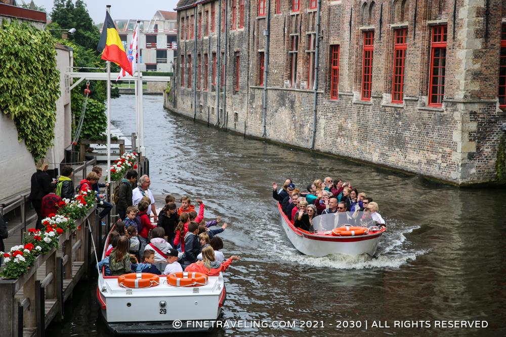Canal Tours Of Bruges