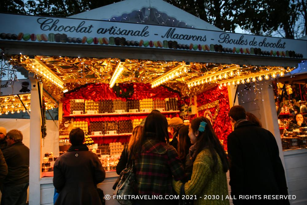Champs Elysees Christmas Market Things To Do In Paris