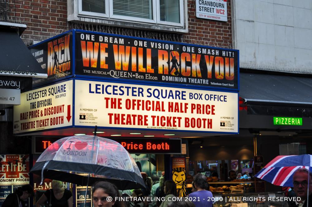 half price ticket booth london