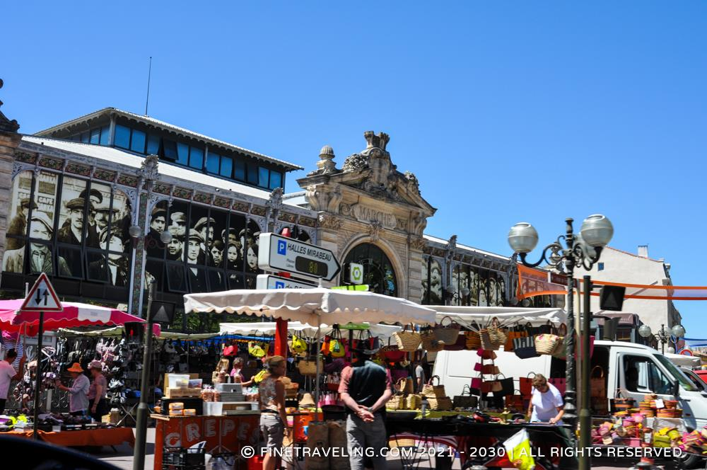 narbonne market hall things to do in narbonne. Black Bedroom Furniture Sets. Home Design Ideas