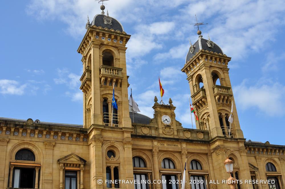 San Sebastian City Hall Things To Do In Donostia San