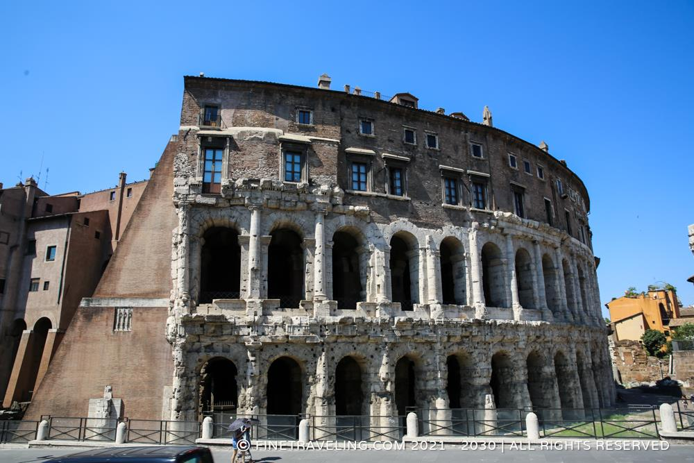 Theatre of Marcellus - Things to do in Rome - Fine Traveling