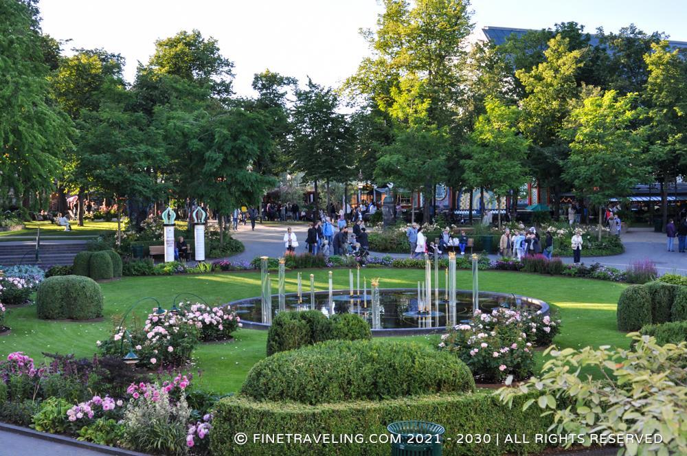 Tivoli Garden Copenhagen Map Garden Ftempo
