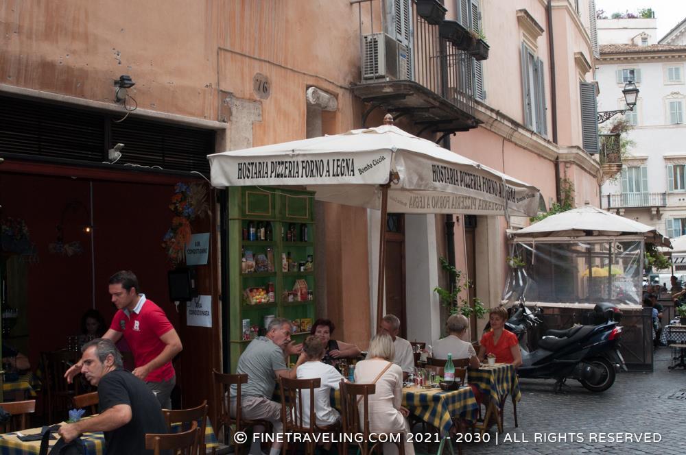 Cantina cucina rome restaurant reviews fine traveling - Cucina e cantina ...