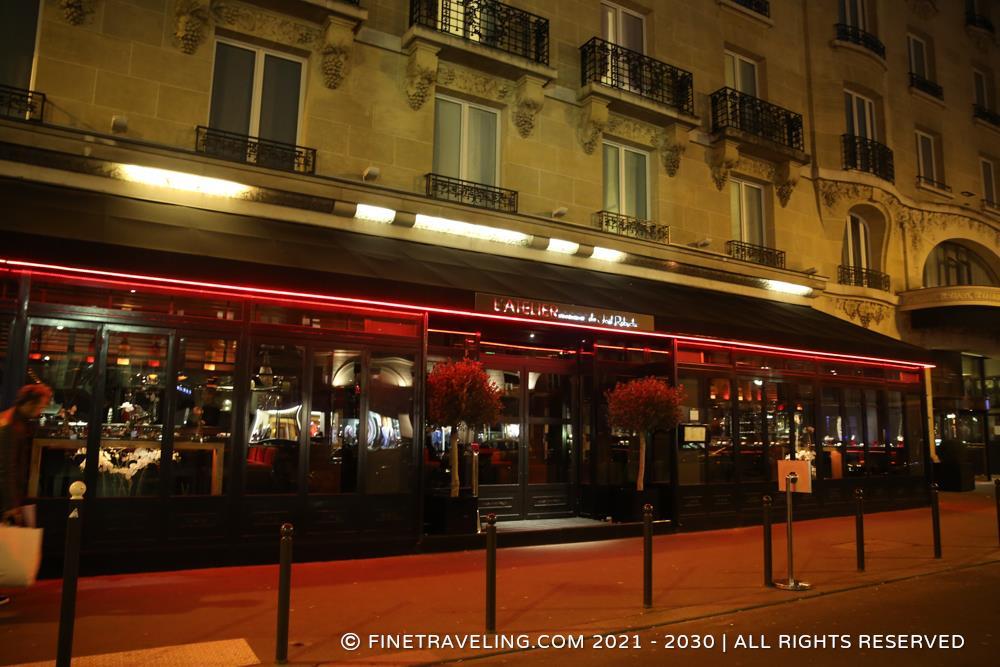 L atelier saint germain de joel robuchon paris - Atelier cuisine paris ...