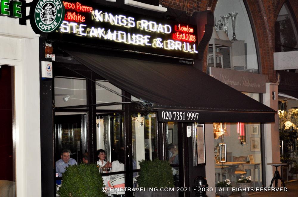 Marco Pierre White Kings Rd Steakhouse, London - Restaurant Reviews ...