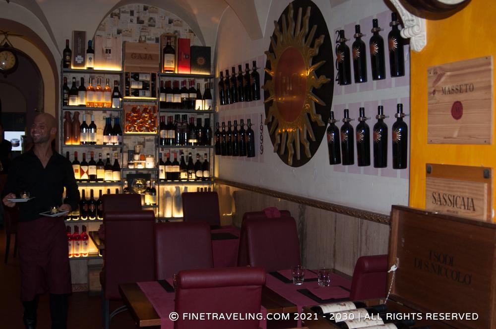 Ristorante ad hoc rome restaurant reviews fine traveling - Italian ad hoc interviste ...