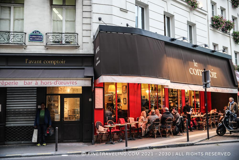 Le comptoir paris restaurant reviews fine traveling - Le comptoir paris restaurant ...